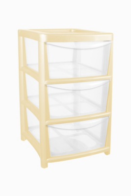 ASDA 3 Drawer Tower Storage