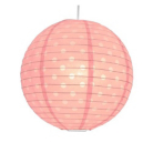 ASDA Paper Lantern - Pink and White