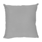 ASDA Faux Silk Cushion - Silver