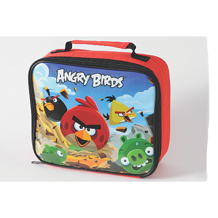 angry birds lunch bag dining asda direct. Black Bedroom Furniture Sets. Home Design Ideas