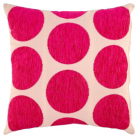 ASDA Spot Cushion - Fuchsia