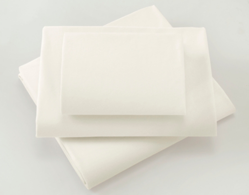 Little Angels Cream Cotbed Fitted Sheets - 2 Pack