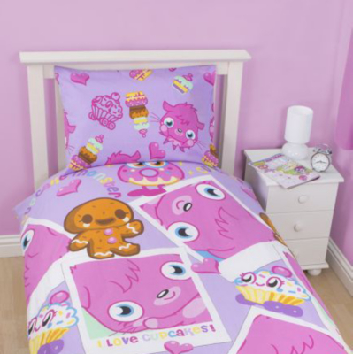 Moshi Monsters Cupcake Rotary Duvet Set - Single