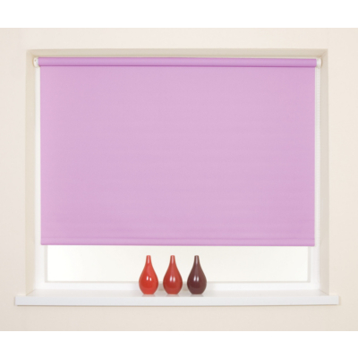 Pink Blackout Thermal Roller Blind  - 90x160cm, Pink