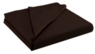 ASDA Non-Iron Flat Bed Sheet - Chocolate, Various Sizes