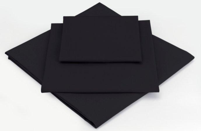 ASDA Flat Bed Sheet Black