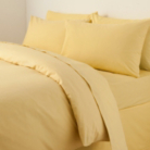 ASDA Valance Bed Sheet Yellow - Various Sizes