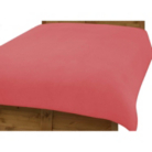 ASDA Duvet Cover Coral - Various Sizes