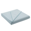 Elegant Living Luxury Flat Bed Sheet Teal Cloud - Various Sizes main view