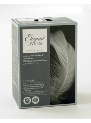 Luxury Mattress Topper Double Goose Feather Down Bed