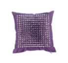 ASDA Violet Beaded Bed Cushion