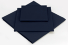 ASDA Fitted Sheet Navy Blue - Various Sizes