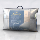 Fogarty Duck Feather & Down Pocketed Pillow