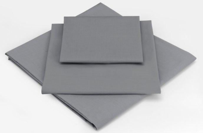 ASDA Grey Flat Sheet