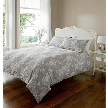 George Home Woven Jacquard Duvet Set Double Bedding