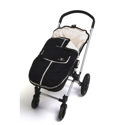Wallaboo Stroller Footmuff, Black Picture