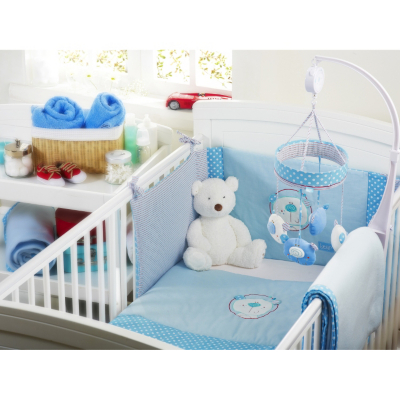 Clearance Boys Bedding on Asda Direct   Red Kite Cosi Cot Bedding Set   Blue Bear Customer