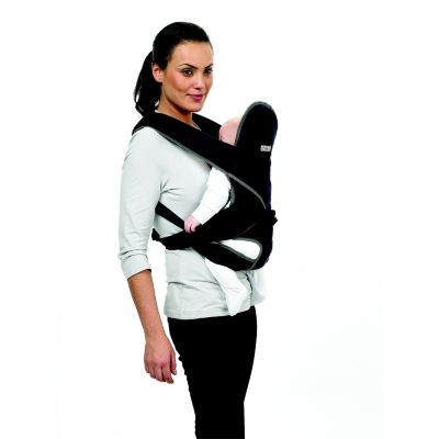 Wilkinet Cotton Twill Baby Carrier Black