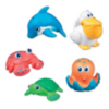 Munchkin Sea Squirts -  Water-squirting sea characters main view
