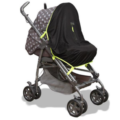 Snoozeshade Original - Stroller Blind, Black Picture