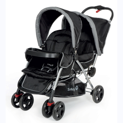 Safety 1st Duodeal Tandem Pushchair, Black Picture