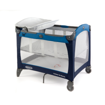 Contour On The Go Travel Cot - Butterfly
