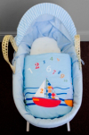 Sail Away Moses Basket alternative view