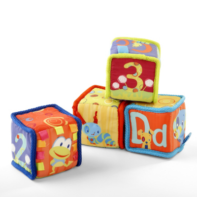 Grab and Stack blocks, blue 9052