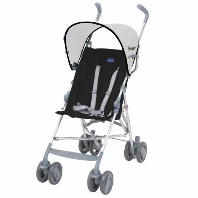 Chicco Snappy Black Baby Stroller Black