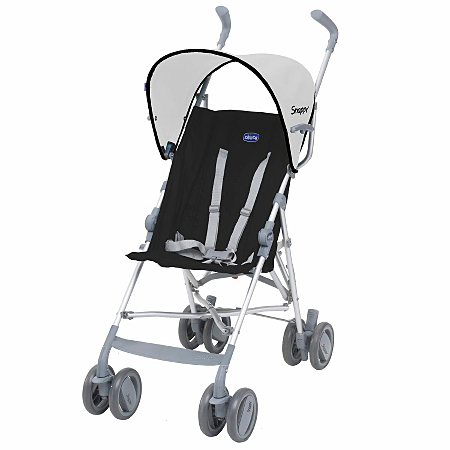 Chicco Snappy Black Baby Stroller