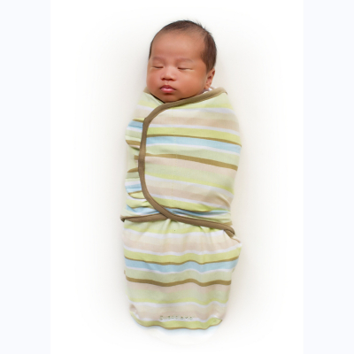 Summer Infant Swaddle Me Wavy Stripe Neutral
