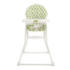Obaby Munchy Highchair - Dotty Lime alternative view