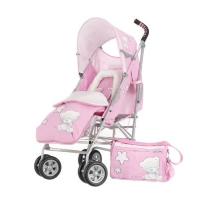 Tiny Tatty Teddy Atlas V2 Stroller Bundle - Pink Picture