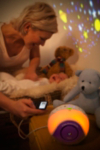 BT Baby Monitor and Pacifier alternative view
