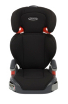 Graco Junior Maxi Black Group 2/3 High Back Booster Car Seat