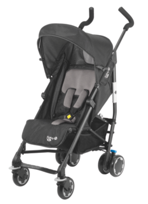 Safety 1st Compa City Stroller - Black, Black Picture