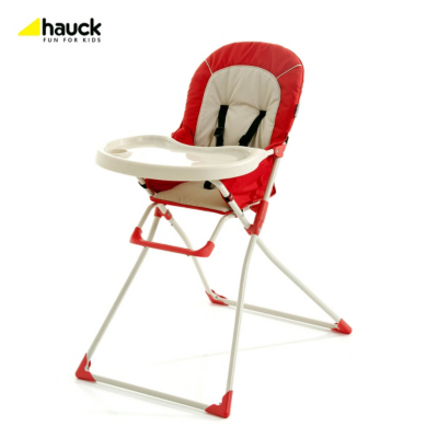 Macbaby Deluxe Highchair - Red, Red 639313