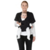 Mamas & Papas Flex Baby Sling - Black Jack (S/M) main view