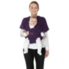 Mamas & Papas Flex Baby Sling - Plum Pudding (S/M) main view