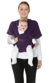 Mamas & Papas Flex Baby Sling - Plum Pudding (M/L) main view