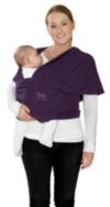 Mamas & Papas Flex Baby Sling - Plum Pudding (M/L) alternative view