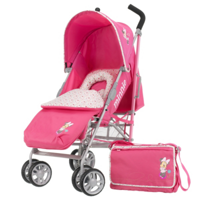 Disney Minnie Stroller Bundle - Pink, Pink Picture