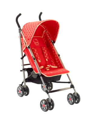 My First Hello Kitty Stroller, Red Picture