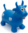 Happy Hopperz Baby Space Hopper - Blue Bull main view