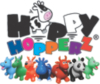 Happy Hopperz Baby Space Hopper - Blue Bull alternative view