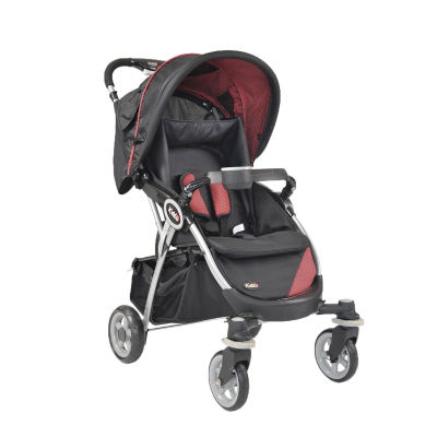 Kiddu Omari Pushchair - Black, Black Picture