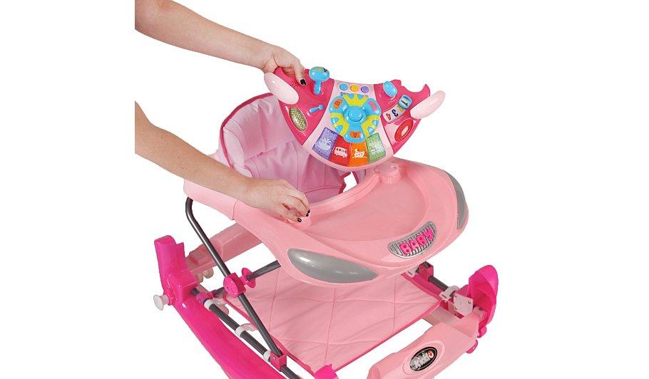 Kiddu Harley Rocker Baby Walker - Pink   Walkers, Rockers ...