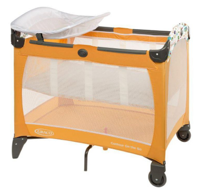 Graco Contour On The Go Travel Cot Orange