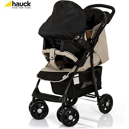 hauck shopper pushchair set in beige prams pushchairs asda direct. Black Bedroom Furniture Sets. Home Design Ideas