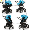 Hauck Colt Pushchair Set in Blue main view
